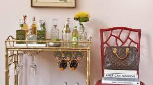 bamboo bar cart. Likeable Gold Bamboo Bar Cart In The Sedgewick Society Social
