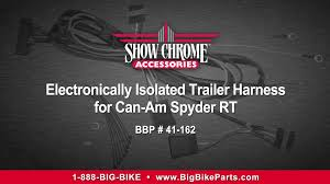 electronically isolated trailer wiring harness for can am spyder electronically isolated trailer wiring harness for can am spyder rt