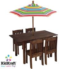 kidkraft table stacking chairs with