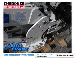 how to find auto crane serial number cherokee truck equipment, llc Auto Crane Wiring Diagram applies to the following auto crane models 5000 series 5000e series 5005eh series 5005h series 6006 series 6006eh series 6006h series 6406h series auto crane 3203 wiring diagram