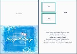 005 Microsoft Word Birthday Card Template Cards Resume New Publisher