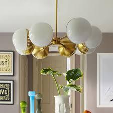 remarkable jonathan adler chandelier of rio oval spoke brass modern chandeliers