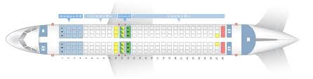 Seat Map Airbus A320neo Frontier Airlines Best Seats In The