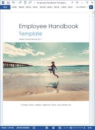 Employee Handbook Template Ms Word Excel Templates Forms