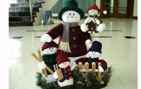 snowmen decor
