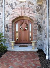 arched front doorArched front doors entry mediterranean with front door wreath