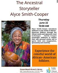Alyce Smith-Cooper at the Ocean Beach Library