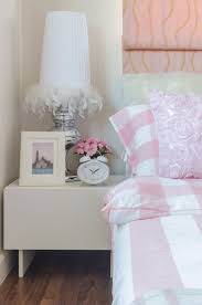 cushions are a great way to add some spice to a girl s room the chiffon ribbon rose fabric seen here is freely available from fabric s