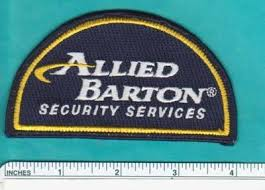 Allied Barton Security Services Fla Florida Fl Police Patch Port
