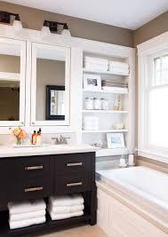 shelving over bathtub
