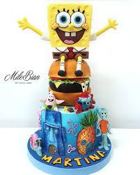 Spongebob Cake Cake By Milebian Cakesdecor
