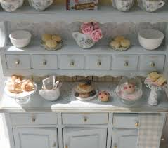 Shabby Chic Kitchens Reserved Miniature Shabby Chic Kitchen Hutch