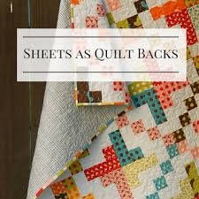 Flat Sheets as Quilt Backings? - TheQuiltShow.com & Would you ever consider using a flat sheet as a quilt back? Many quilters,  say