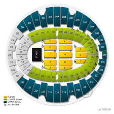 La Forum Seating Chart Concert Los Temerarios Tickets 2019 Tour Dates Prices Buy At