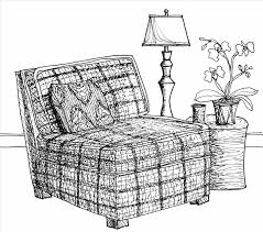 fancy couch drawing. Modren Fancy Drawn Fancy Couch Drawing One Arm Pencil And In Color Sofa Bed Thomas  Sheraton Technical Furniture For Fancy Couch Drawing