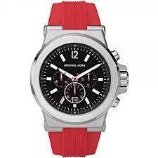 michael kors mk8169 men s red chronograph watch mk8169 watches michael kors michael kors mk8169 men s red chronograph watch