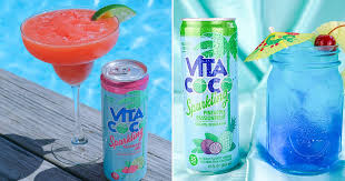 these sparkling coconut water tail