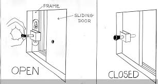 lock for sliding glass patio doors windows latch