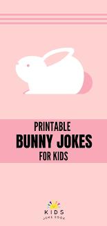 free printable bunny jokes for kids