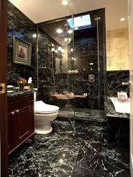 Black Marble Bathroom Model