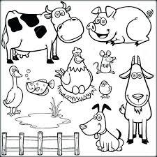 Preschool Farm Coloring Pages Denconnectscom