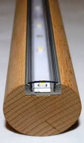 staircase lighting led. LED Handlauf Buche 1 Mtr Ca. Stair Handrail With LED/SMD\u0027s, Approx 60 Per Meter. Great Idea For Lighting Up The Stairs At Night Or Down To Cellar \u0026 A Staircase Led T