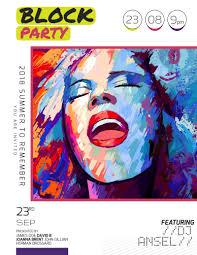 Block Party Flyer Block Party Flyer Template