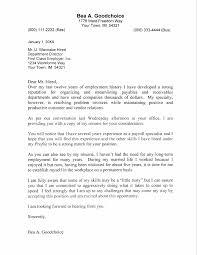 Cover Letter Accounting Clerk Cover Letter Format Template