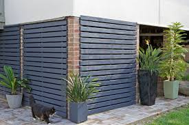 build a slatted timber screen