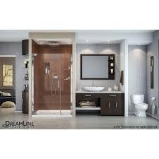 elegance 37 1 4 49 3 4 x 72 frameless pivot shower door