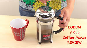 The french press system is beloved by coffee aficionados worldwide for its simplicity of brewing and purity of taste. Bodum Chambord 8 Cup French Press Coffee Maker Review Youtube