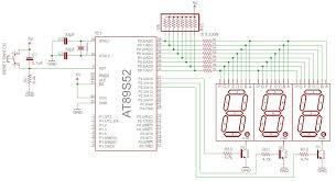 open electronics project multiplexed seven segment display multiplexed seven segment circuit diagram