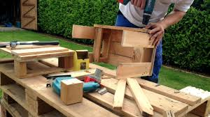 Pallet Furniture Pictures Pallet Furniture Quick Easy Youtube