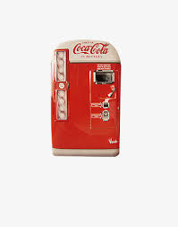 Personal 12 Can Soda Vending Machine Classy Ancient Beverage Cabinet Drink Coke Vending Machine PNG Image And