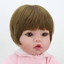 child size love doll 20 inches doll reborn soft vinyl kawaii reborn babies for girls pink
