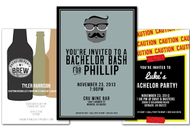 Email Online Bachelor Party Invitations That Wow