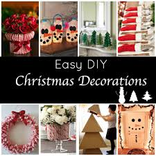 These cute & Easy DIY Holiday Decorations will take your holiday decorating  to the next level!