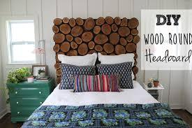 homemade wood headboards diy wood round headboard thewhitebuffalostylingco ideas