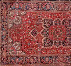antique persian heriz carpets
