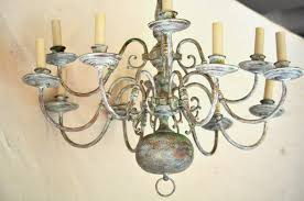 image of chandelier painting ysis