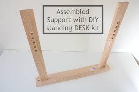 how to create your ikea diy adjule height standing desk