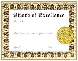 Template Microsoft Publisher Award Certificate Template Form Awards