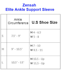 Zensah Elite Gel Ankle Support Sleeve