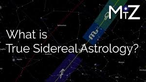 Sidereal Natal Chart Calculator What Is True Sidereal Astrology