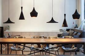 stylish lighting living. black hanging lamps for loft living spaces stylish lights lighting l