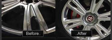 bentley alloy wheel refurbish before after