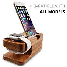 wooden apple watch iphone bamboo stand charging cradle inspiration of diy phone charging station
