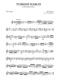 We have 6 arrangements for turkish march lyrics & chords sheet music and for alto saxophone and other instruments. Turkish March For Trumpet And Piano By Wolfgang Amadeus Mozart 1756 1791 Digital Sheet Music For Individual Part Score Solo Part Download Print S0 598955 Sheet Music Plus