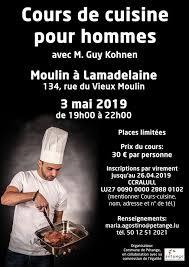 Cours De Cuisine Pour Hommes 3 May 2019