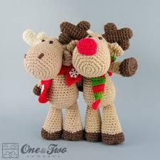 Amigurumi Crochet Patterns Inspiration Reindeer And Moose Amigurumi Crochet Pattern